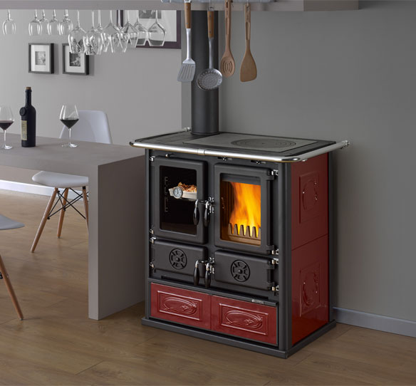 La Nordia Extraflame Wood Burner TOTALLY SUSTAINABLE