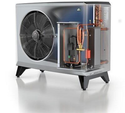totally sustainable air source heat pump