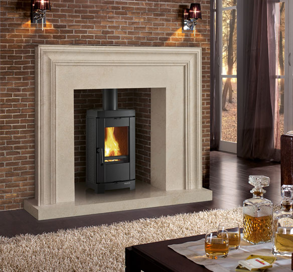 totally sustainable cast iron wood burning stove